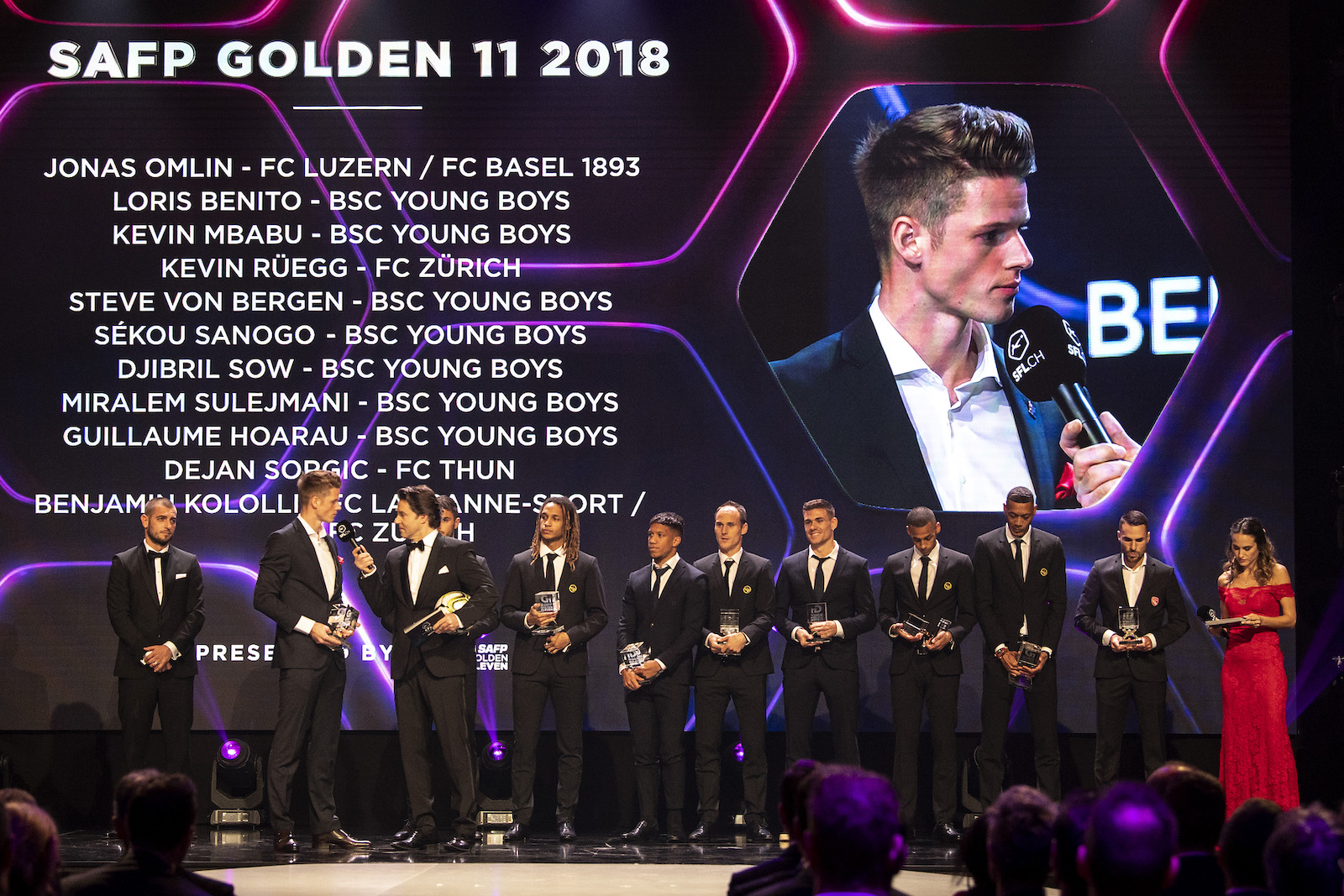 SAFP Golden11 2018 (COPYRIGHT Claudio de Capitani/freshfocus)